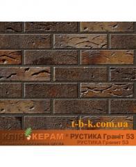 Кирпич облицовочный Керамейя КлинКЕРАМ Рустика