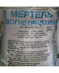 Mertel fire-resistant (mesh.25kg) No. 2