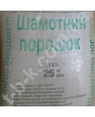 Shamotny powder (mesh.25kg)