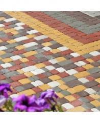 Плитка тротуарная Старый город (80мм)