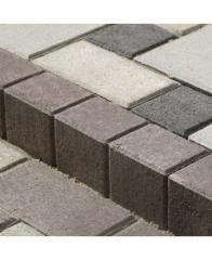 Поребрик фигурный квадратный 500*250 (80мм)