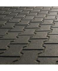 Плитка тротуарна Подвійне Т (70мм)