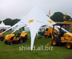 Shield Tent for exhibitions and presentations