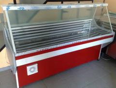 Garda with direct glass. Refrigerating appliances