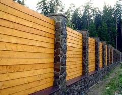 Заборы декоративные деревянные под заказ