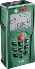 Лазерный дальномер цифровая рулетка Bosch PLR 25