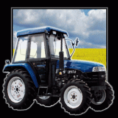 Трактор LUZHONG 454
