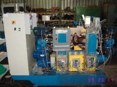 The automatic machine for complex processing of