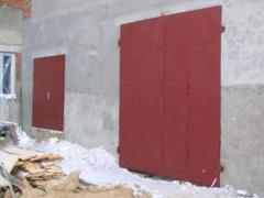 Gate on garage