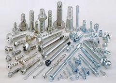 Hardware (bolts, nuts, washers), wide choice