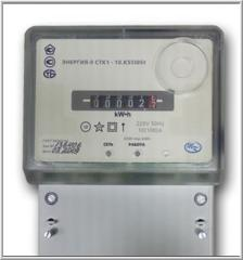 Single-phase one-rate metering devices, counters
