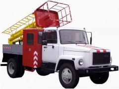 Tower vehicle telescopic TVG-15N
