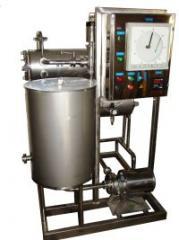 Installations pasteurization tubular PTU-1; PTU-3,