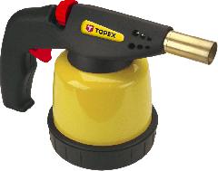 Лампа паяльная газ з пъєзоэлементом TOPEX картридж