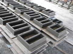 Blocks ventilating of concrete