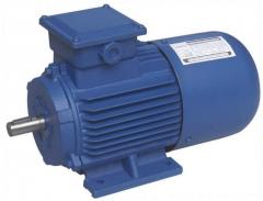 Electric motors of direct current common