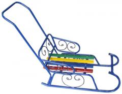 Sledge decorative with the handle