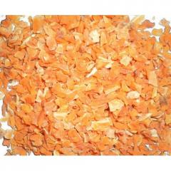 Carrots dried granules