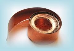 Tape roofing copper