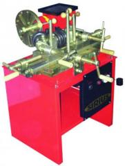 The leveling machine for steel disks