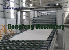 Line of production of gypsum cardboard (HL)