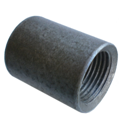 Couplings steel, pig-iron, corrosion-proof, wide