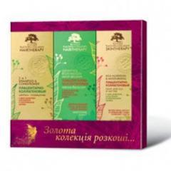Подарочный набор БИОГОЛД (Шампунь+маска+крем) для