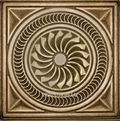 Brass insert the Kaleidoscope 7,5х7,5 for