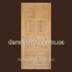 Doors from the massif of a tree of 90 cm (deaf)