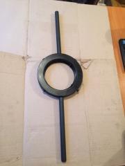 Плашкодержатель трубный с трещеткой № 1, 2, 3