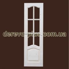 Двери из массива дерева 60см (под стекло)...