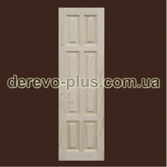 Doors from the massif of a tree of 60 cm (deaf)
