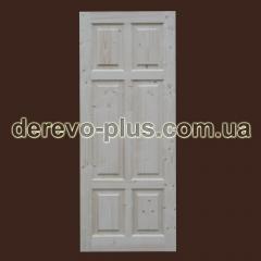 Doors made of wood 80cm (deaf) f_0180