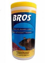 BROS Зерно от мышей и крыс 300 гр