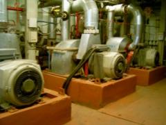 The turbo-generator P-0,25-13,5 installation is