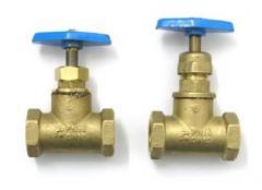 Gates brass muftovy (valves locking) 15b3r, 15b1p,