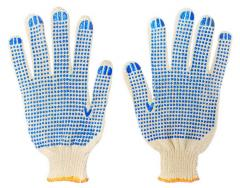 Mittens and gloves workers rubber leather knitted