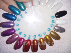Глиттер, Зеркальный блеск для дизайна ногтей 5