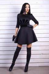 Платье Burberry  черное