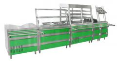 Processing equipment for the food industry. The