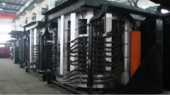 Furnaces induction melting (Melting GW complex)