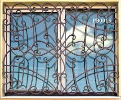 Декоративні  решітки, грати на вікна