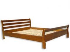 Кровати деревянные Виктория дуб ясень