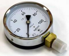 Манометр измеряющий давление жидкости или газа