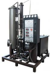 Installation of regeneration of transformer oils