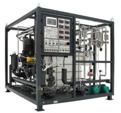 The bituminous and emulsion UVB-1 installation,