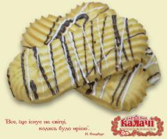 Печиво здобне Ажур, печенье опт от производителя, кондитерское предприятие КАЛАЧИ