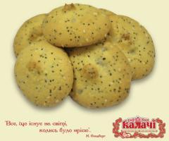 Печиво домашнє Зернятко, печенье опт от производителя, кондитерское предприятие КАЛАЧИ