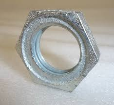 Lock-nuts steel, galvanized, corrosion-proof,