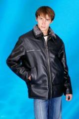 Куртки мужские из натуральной кожи